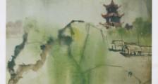 赵少昂《秦淮烟雨图》中的江南意象