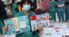 庆祝特殊的妇女节:儿童画写满祝福从北京寄往武汉|组图